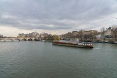 Paris, vue du Seine images stock