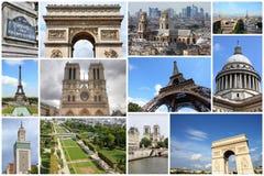 Paris vykort Arkivfoton