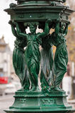 Paris, Wallace Fountain Royalty Free Stock Photography