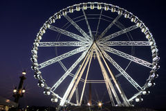 Paris wheel Stock Photo