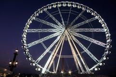 Paris wheel. Giant wheel on Concord in Paris Stock Photo
