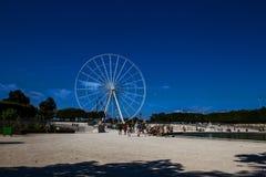 Paris wheel in Place de la Concorde Stock Image