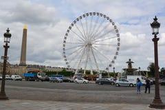 Paris wheel Royalty Free Stock Photos