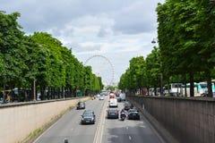 Paris wheel royalty free stock images