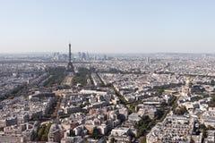 Paris widok lotniczego zdjęcie stock