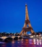 Paris wieżę eiffel France Obraz Royalty Free