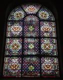 Paris - windowpane from church Stock Image