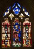 Paris - windowpane of Peter apostel - Saint Germai Royalty Free Stock Photos