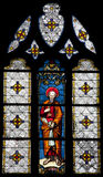 Paris - windowpane - saint Peter apostle Stock Photos