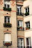 Paris windows Royalty Free Stock Photo