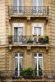 Paris windows Stock Photos