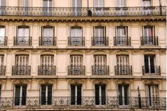 Paris windows Royalty Free Stock Photos
