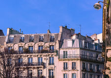 Paris in the winter morning, France Stock Image