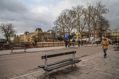 Paris in winter, Paris, France Royalty Free Stock Photos