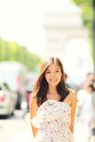 Paris woman Stock Photo