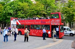 paris wycieczka turysyczna fotografia royalty free