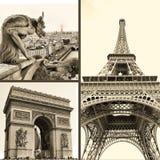 Pariser Abbildungen Stockfotos