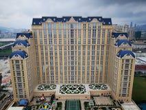 Pariser in Macao stockbild