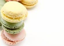 Pariser macarons lizenzfreie stockfotos