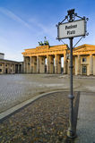 Pariser platz berlin Stock Images