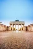 Pariser Platz and Brandenburger Tor in Berlin Royalty Free Stock Photo