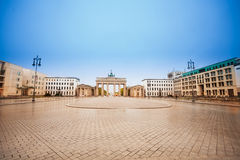 Pariser Platz and Brandenburger Tor during day Royalty Free Stock Photo