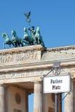 Brandenburg gate, Berlin Royalty Free Stock Images