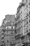 Pariser Wohnanlage Stockfotografie