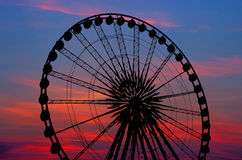 Pariserhjul Arkivfoto