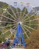 Pariserhjul i khostaområde av den större sochien Arkivfoton