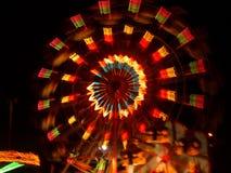 Pariserhjul i Nesebar royaltyfri foto