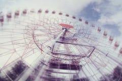 Pariserhjul i rörelse Royaltyfria Bilder