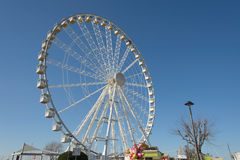 Pariserhjul i rimini Arkivbild
