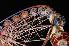 Pariserhjul på natten Royaltyfria Bilder