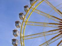 Pariserhjul på Oktoberfesten, Munich, Tyskland Arkivfoto