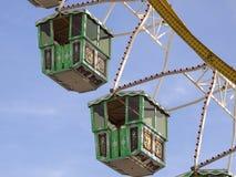 Pariserhjul på Oktoberfesten, Munich, Tyskland Arkivbild