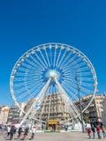 Pariserhjul på port av Marseille Royaltyfri Fotografi