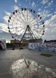 Pariserhjul på Sochi arkivbilder