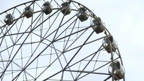 Pariserhjul p? himmelbakgrunden lager videofilmer