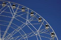 Pariserhjul som 65 meter är hög Parkera av den Oktober revolutionen Rostov-On-Don Ryssland Royaltyfri Fotografi