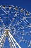 Pariserhjul som 65 meter är hög Parkera av den Oktober revolutionen Rostov-On-Don Ryssland Arkivfoto