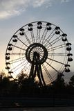 Pariserhjulen av Ferghana royaltyfria bilder