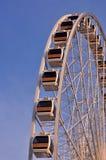 Pariserhjulen i gloamingen tänder Arkivbild