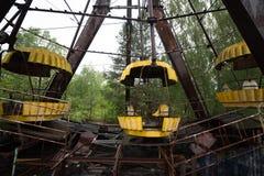 Pariserhjulen i Pripyat parkerar Arkivbilder
