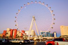 Pariserhjulen, Las Vegas Arkivbild