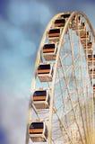 Pariserhjulen med texturerar av drömlik känselförnimmelse royaltyfria foton