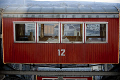 Pariserhjulfröskida i Wien Arkivbilder