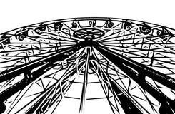 Pariserhjulkarusell i Lunaet Park Royaltyfri Foto