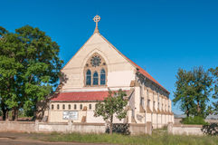 Parish of All Saints Anglican Church in Kimberley. KIMBERLEY, SOUTH AFRICA - APRIL 5, 2015: The Parish of All Saints Anglican Church in Beaconsfield, Kimberley Royalty Free Stock Images