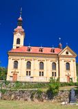 Parish Catholic Church in Portschach am Worthersee Austria Royalty Free Stock Photo